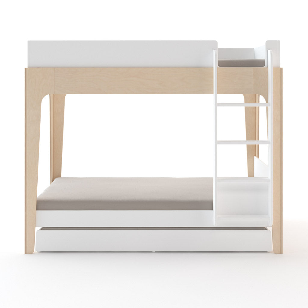 Oeuf Perch Trundle Bed - White