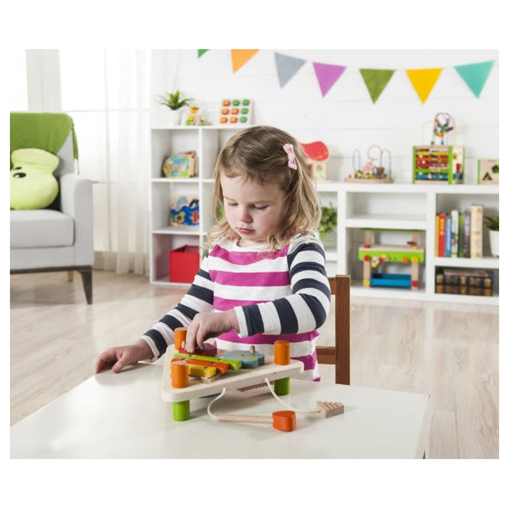 EverEarth Flip Over Triangle Musical Set - UrbanBaby shop