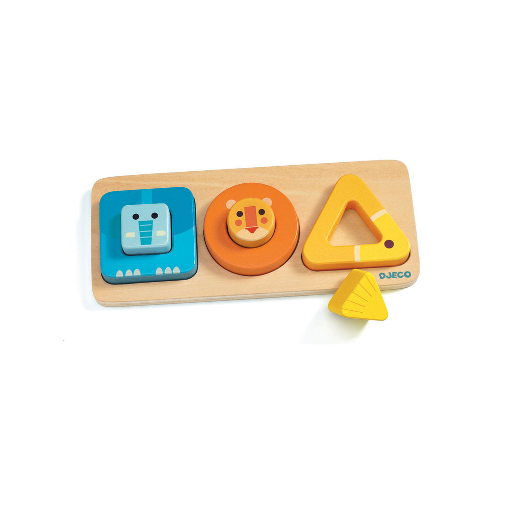 Djeco Wooden Puzzle - Volu - UrbanBaby shop