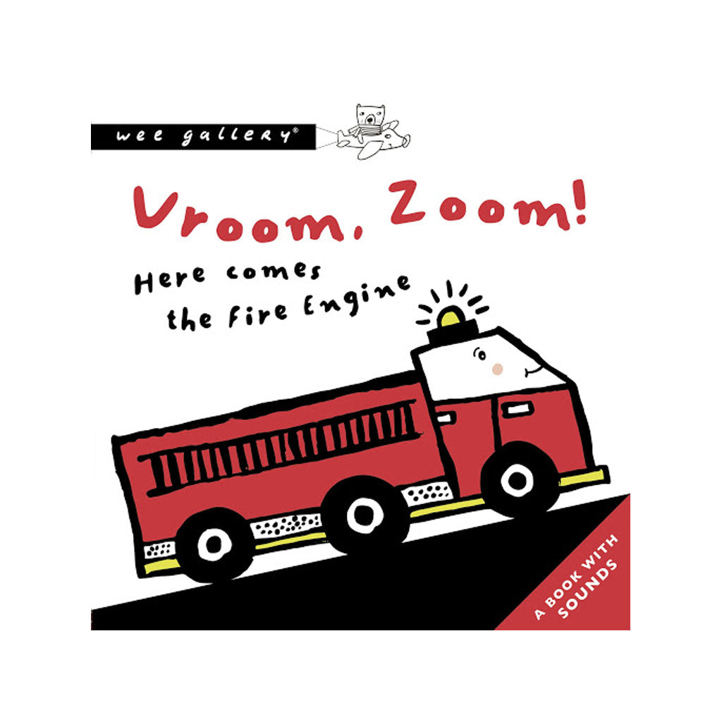 Wee Gallery Press & Listen Book Vroom, Zoom! - UrbanBaby shop