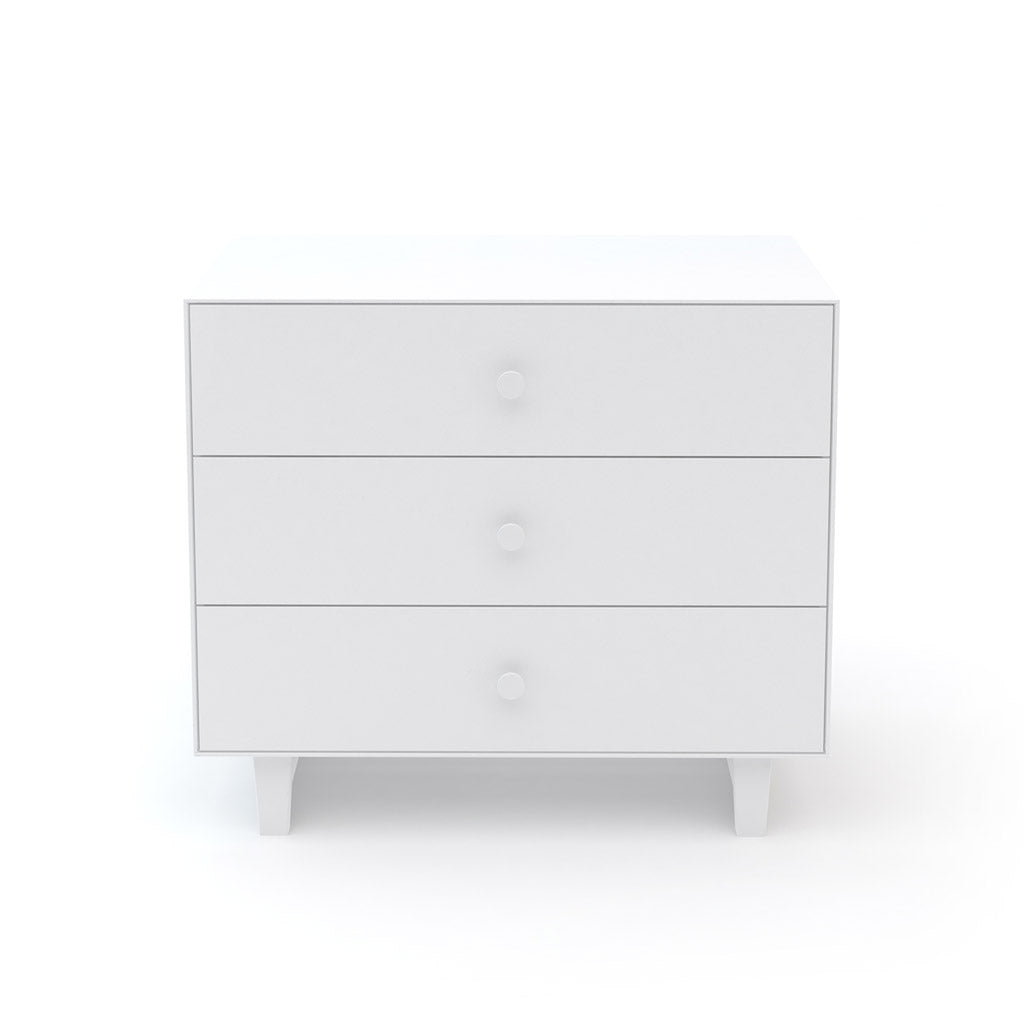 Oeuf Merlin 3 Drawer Dresser for Rhea - White - UrbanBaby shop