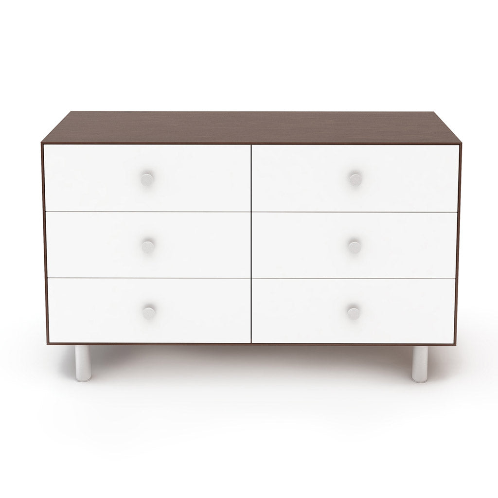 Oeuf Merlin 6 Drawer Dresser for Classic - Walnut - UrbanBaby shop