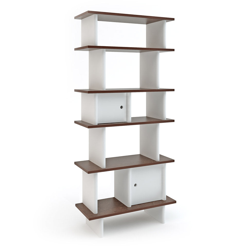 Oeuf Vertical Mini Library - Walnut