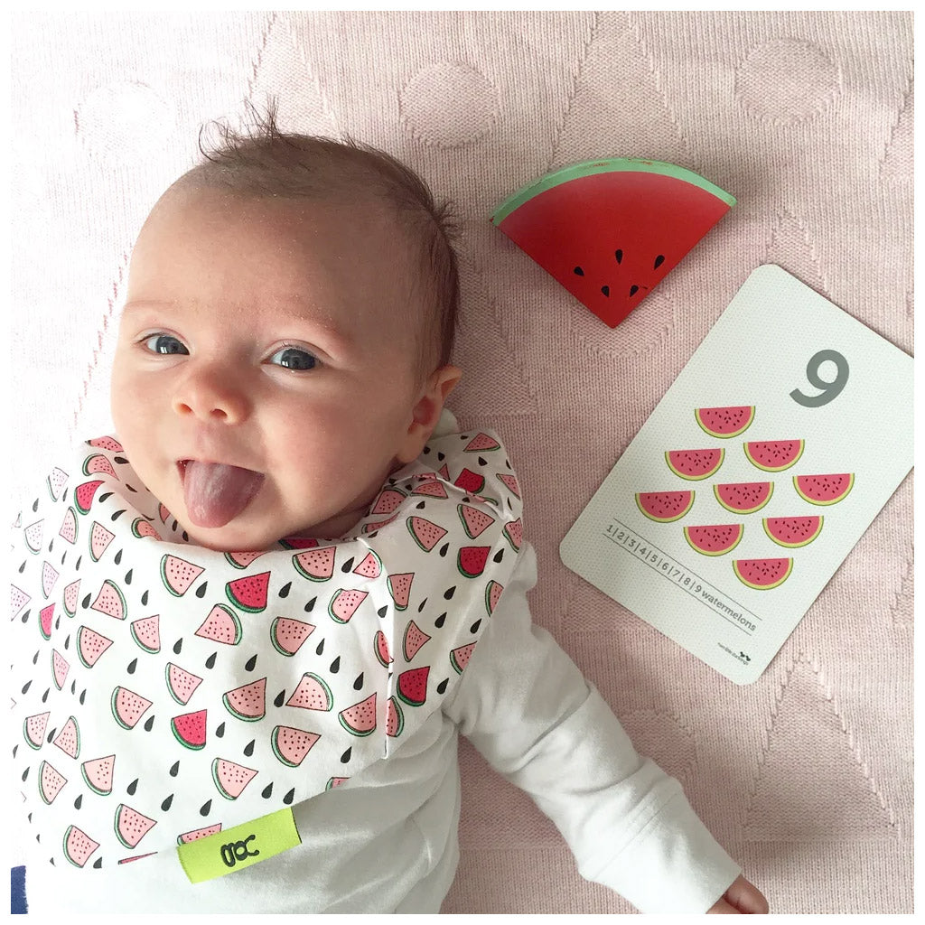 Love from Bug Bib Watermelon - UrbanBaby shop