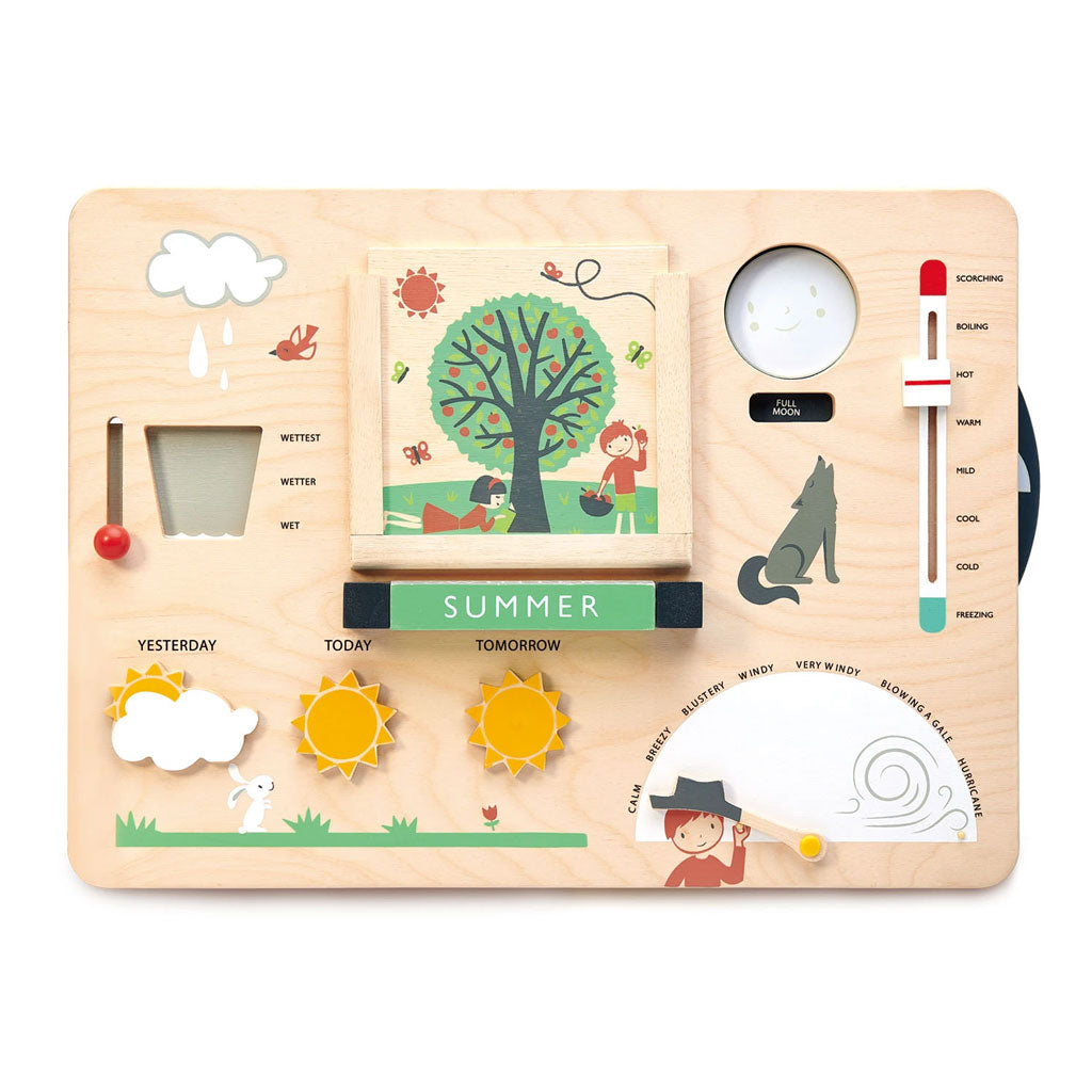 Tender Leaf Wooden Weather Station - UrbanBaby shop