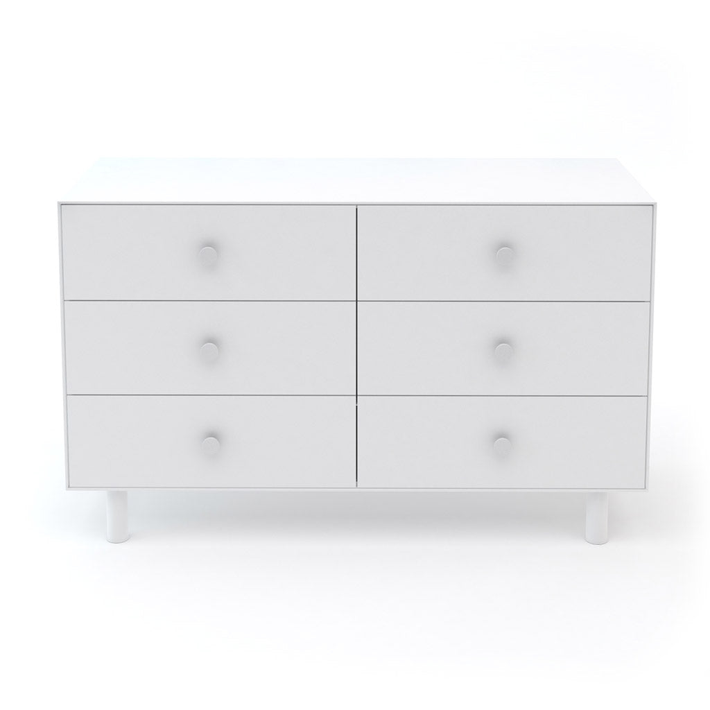 Oeuf Merlin 6 Drawer Dresser for Classic - White - UrbanBaby shop
