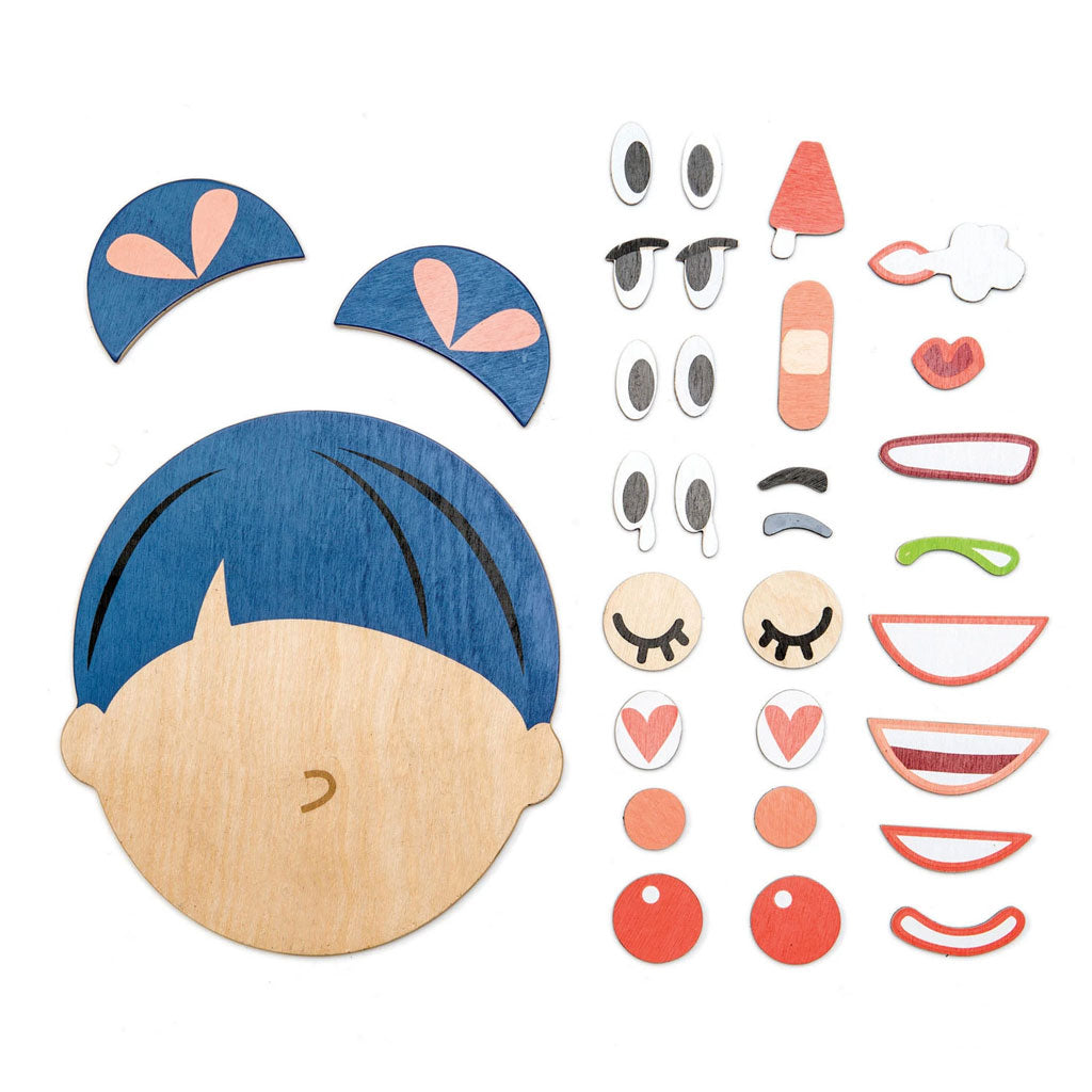 Tender Leaf What's Up Wooden Emotion set - UrbanBaby shop