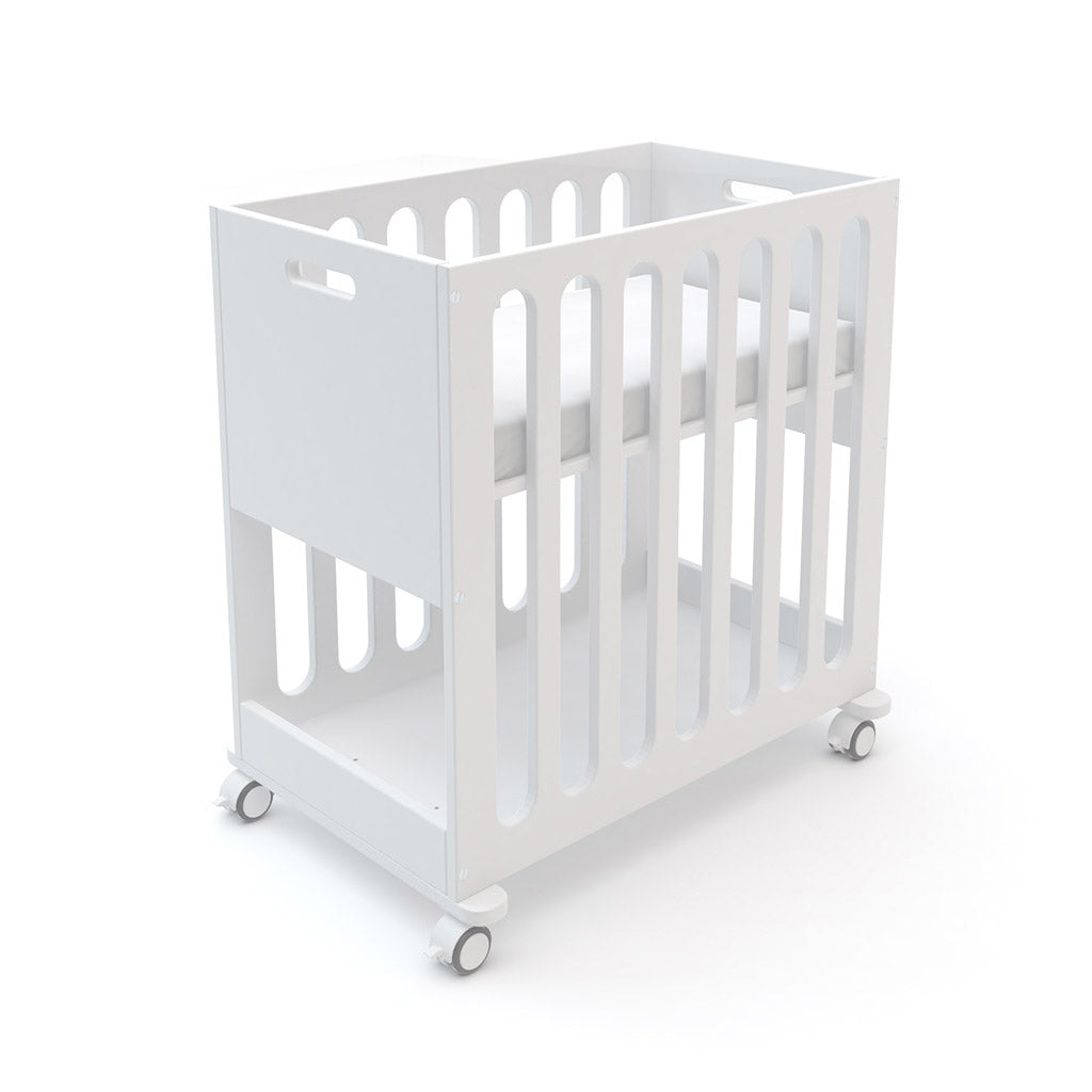 Oeuf Fawn Bassinet and Cot - White