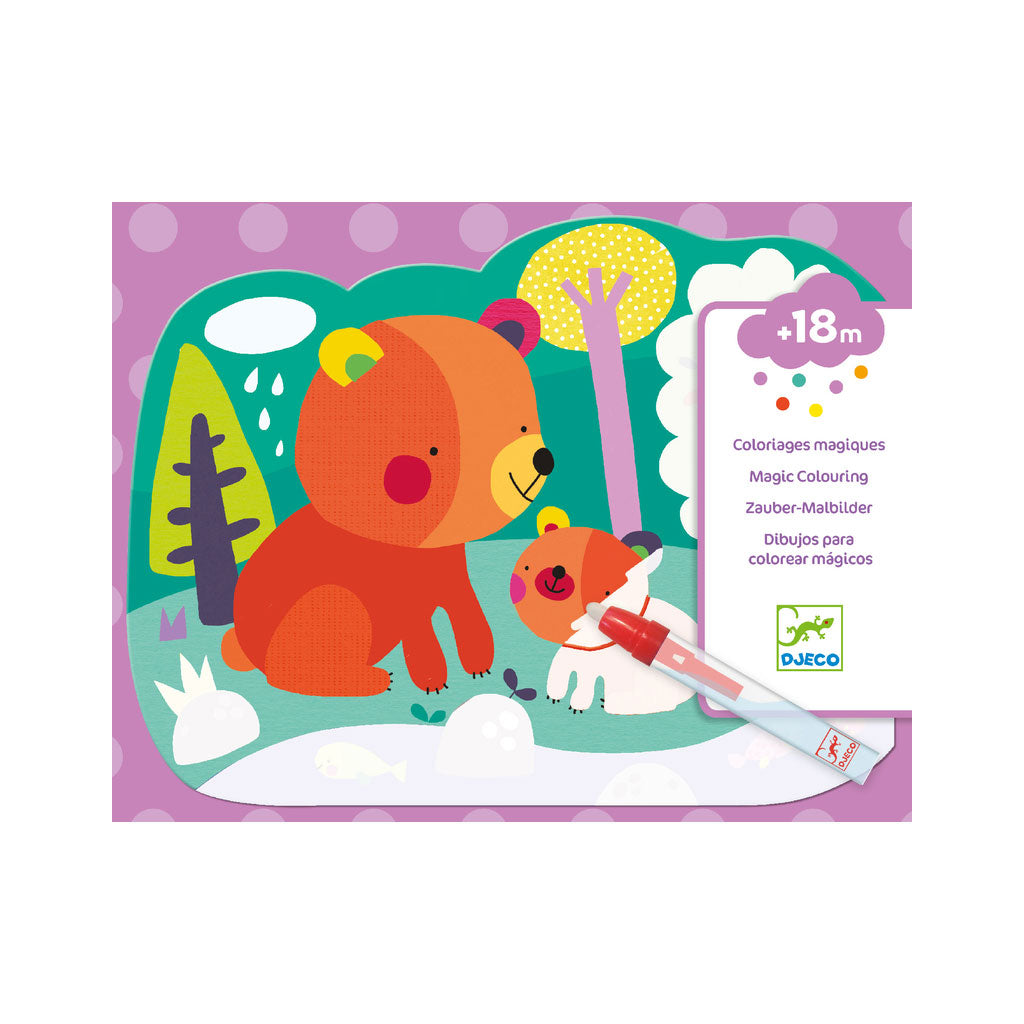 Djeco Colouring Magic - Hidden In The Woods - UrbanBaby shop
