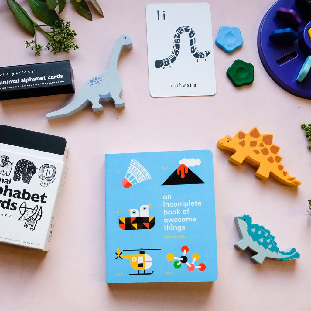 Wee Society An Incomplete Book of Awesome Things - UrbanBaby shop