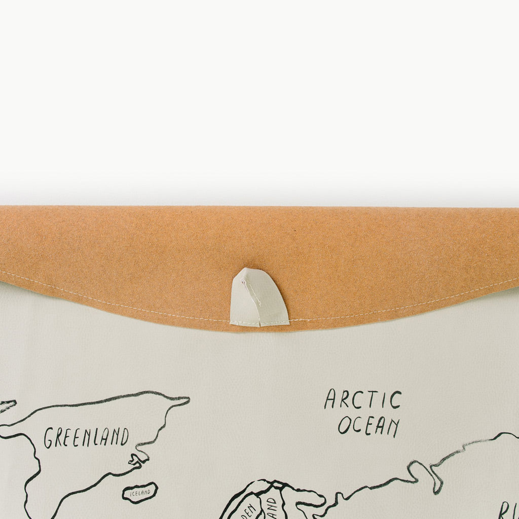 Gathre Mat Midi Circle - World Map - UrbanBaby shop