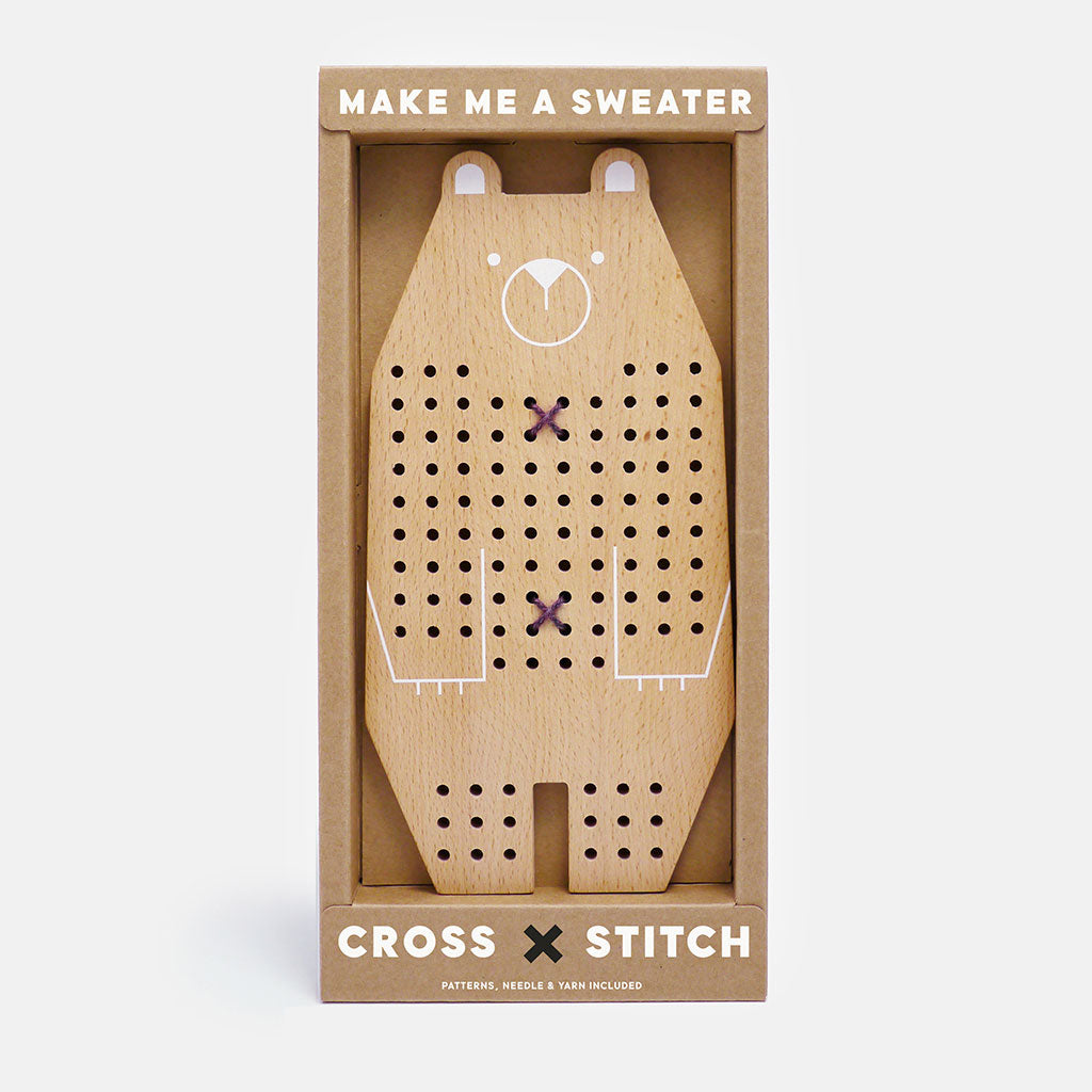 Moon Picnic Cross Stitch Friends - Bear - UrbanBaby shop