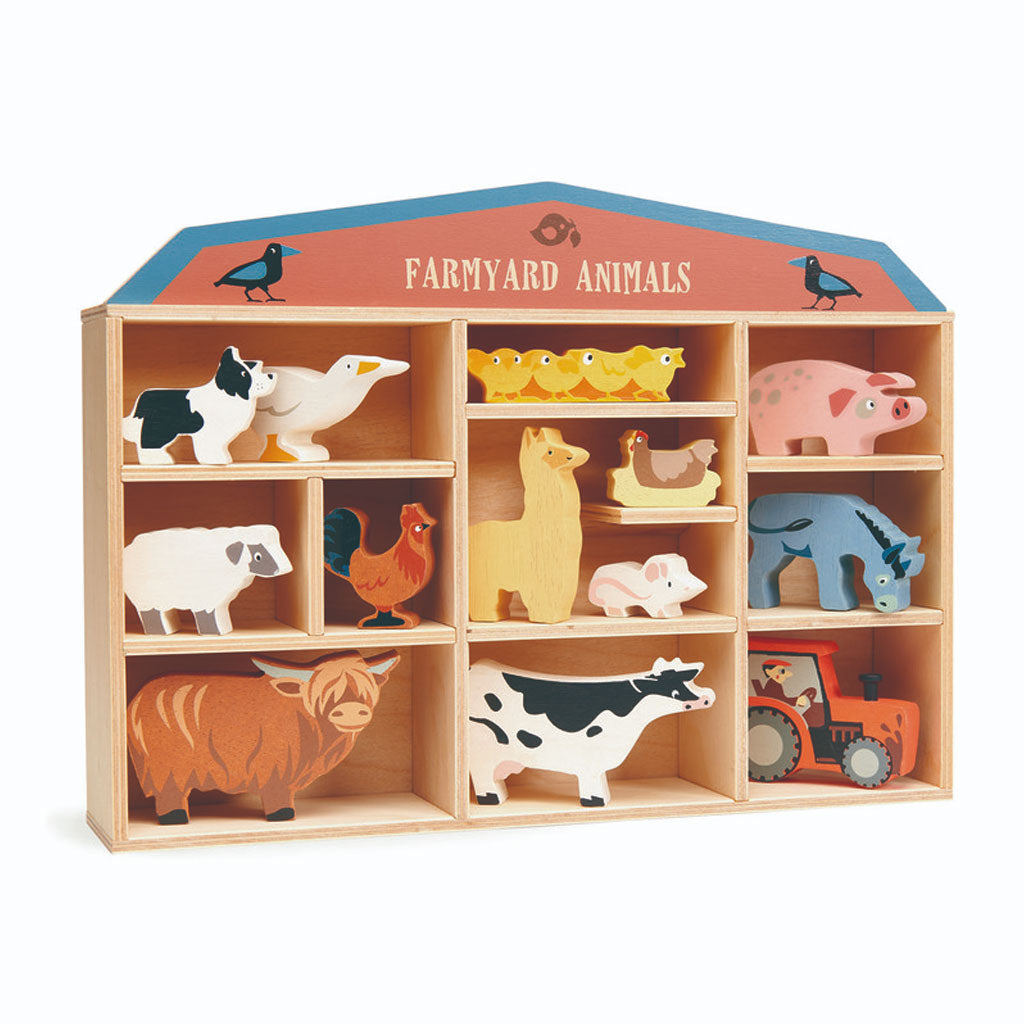 Tender Leaf Farm Yard Set with Display Box - UrbanBaby shop