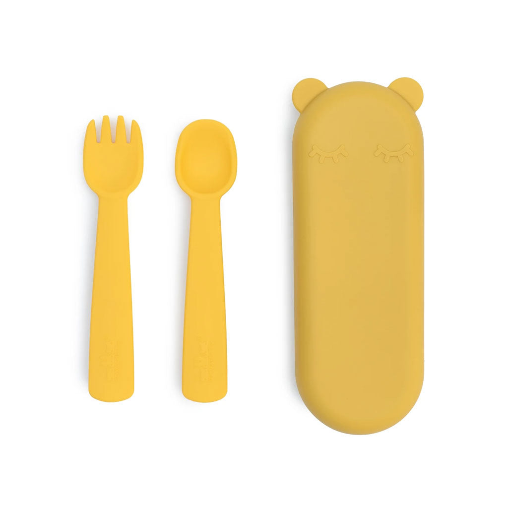 We Might Be Tiny Fork and Spoon Feedie Set - UrbanBaby shop