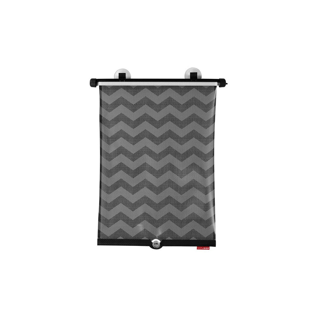 Skip Hop Window Shade 2pk - Tonal Chevron