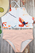 Voyagal Casual Printed Two-piece Swimwear