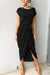 Voyagal I Want It All Short Sleeves Maxi Dress