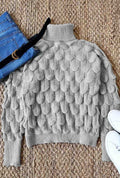 Voyagal Scale Turtleneck Sweater