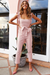 Voyagal White Ruffle One-piece Jumpsuits
