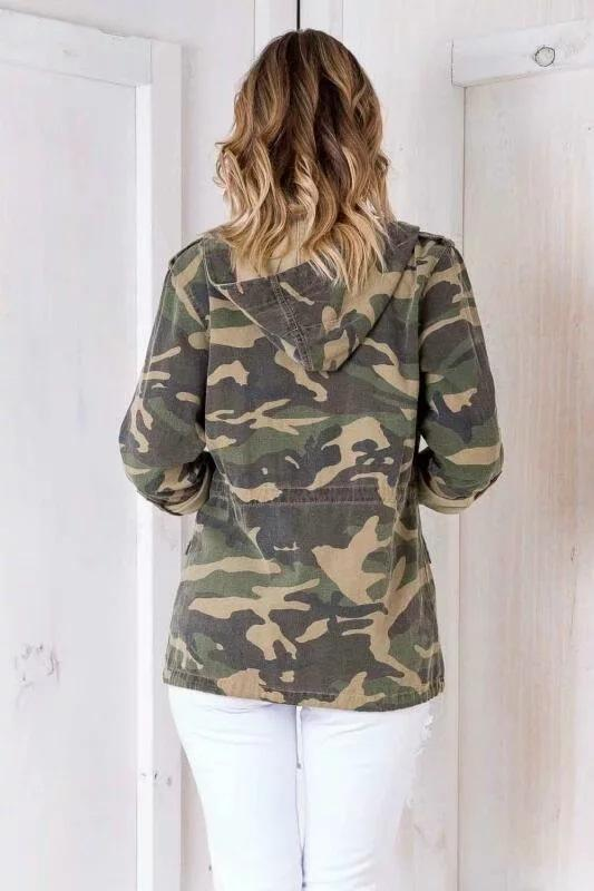 Voyagal Camouflage Ready Or Not Jacket