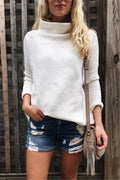 Voyagal Slouchy Ribbed Sweater