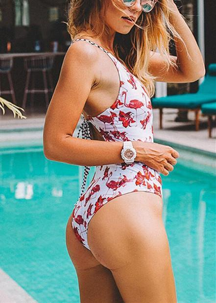 Voyagal Free To Fly Print One-piece Swimsuit