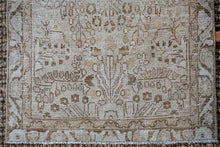 Load image into Gallery viewer, Sold 11/8*2'4 x 9'4 Vintage Hamadan Runner Soft Brown and Beige