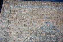 Load image into Gallery viewer, Sold 4/27*10'4 x 13'5 Antique Mahal Carpet Cream & Blue