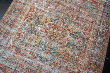 Load image into Gallery viewer, Hold for C til 6/23*9'4 x 12'6 Antique Mahal Carpet Beige and Sea Foam Green