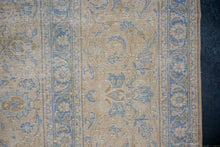 Load image into Gallery viewer, 11'10 x 16'4 Classic Vintage Rug Muted Beige & Blue 70's Carpet