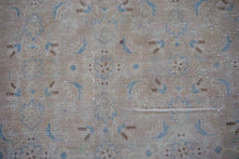 Load image into Gallery viewer, 9'2 x 13' Vintage Persian Mahal Linen-Blush-Beige and Blue