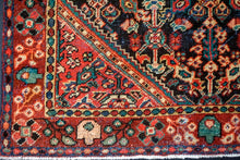Load image into Gallery viewer, 4'3 x 6'10 Vintage Mahal Carpet Jewel Tones 70's