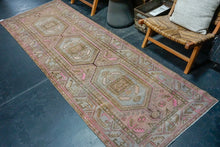 Load image into Gallery viewer, 9'4 x 13'  Vintage Tabriz Carpet Denim Blue Overdyed Vintage Rug