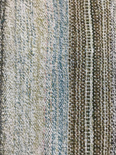 Load image into Gallery viewer, MCM 5 X 8 Vintage Turkish Kilim Pastel Pinks, Blue, White and Gray