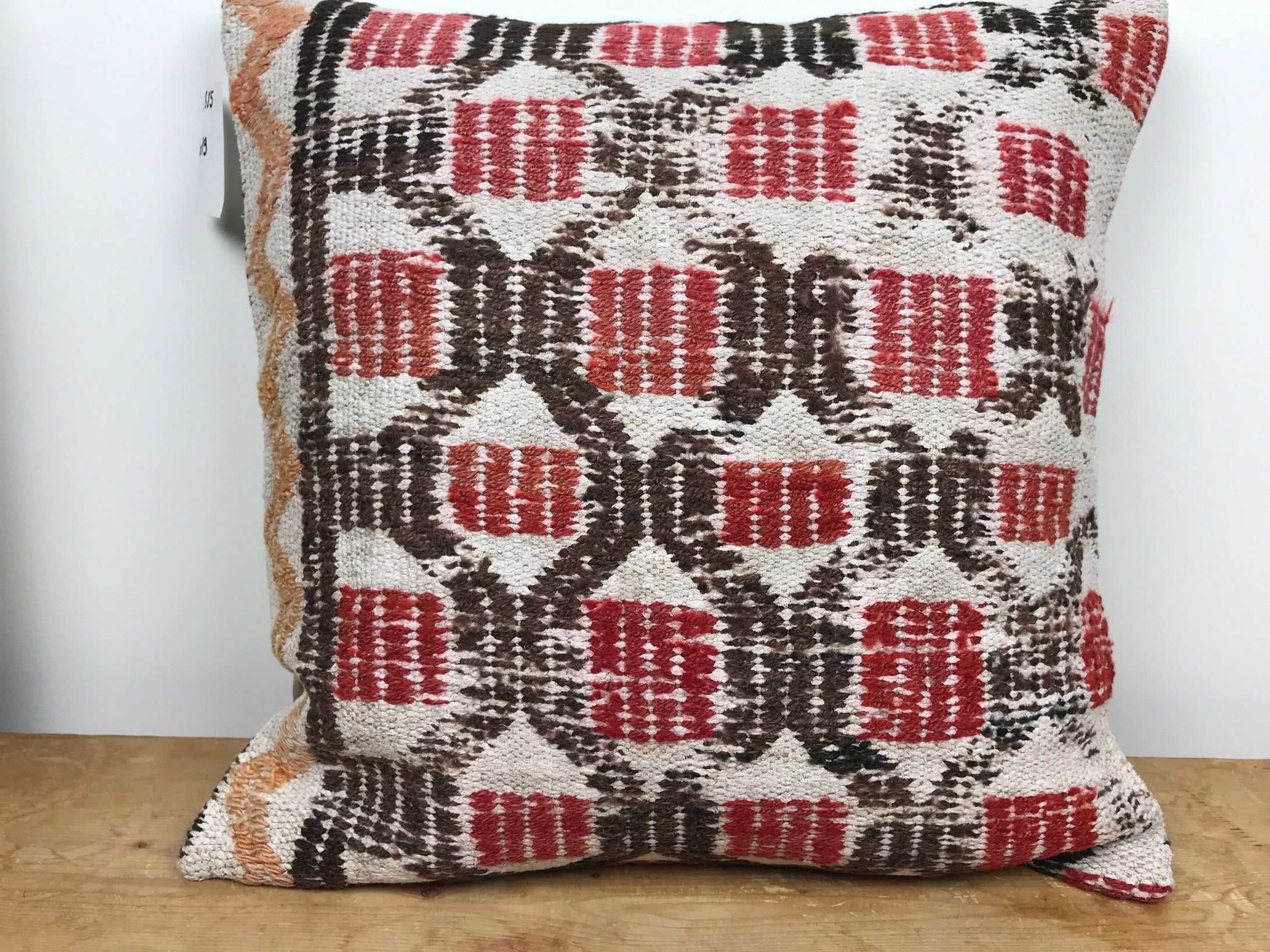 Vintage Turkish Kilim Pillow 19