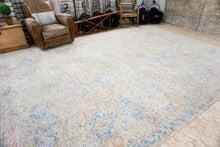 Load image into Gallery viewer, 10' x 14' Oushak Rug Silk and Wool 17th Century Persian Design