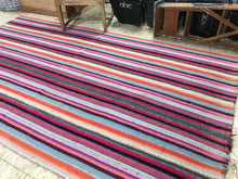 Load image into Gallery viewer, 6 x 9 MCM Kilim Pink Striped