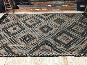 6 x 11 Turkish Kilim Rug Muted Fall Colors