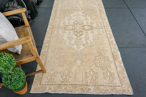 4' x 8' Oushak Rug Faded Monochromatic Colors