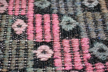 Load image into Gallery viewer, 7 x 12 Bohemian Kilim Rug Dustly Pinks, Purples,Grays, Blush