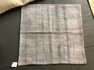 "Vintage MCM Kilim Pillow Cover 39"" X 39"" Gray Organic Hemp"