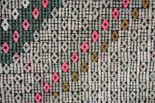Load image into Gallery viewer, 6' x 11' Jijim (Cicim) Bohemian KilimBlush Beige, Pink and Green