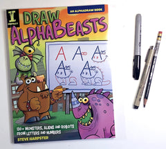 Draw AlphaBeasts by Steve Harpster published by Impact Publishing