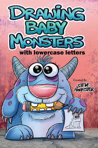 *NEW* Drawing Baby Monsters Using Lowercase Letters