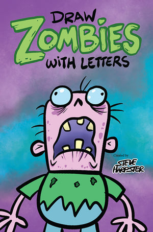 Learn how to draw Zombies with letters.