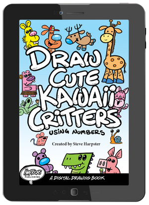 "Download ""Draw Cute Kawaii Critters"" and let the drawing fun begin."