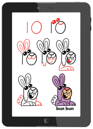 Draw Cute Kawaii Critters (Digital Book)