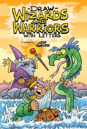 Draw Wizards and Warriors Using Letters