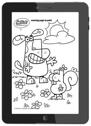 coloring pages to print and share.