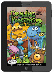 Drawing Monsters With Letters 2 (Digital Book)